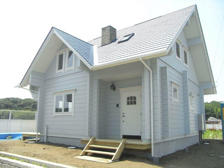 神奈川県大磯町 T様 マシンカットログハウス 住宅
