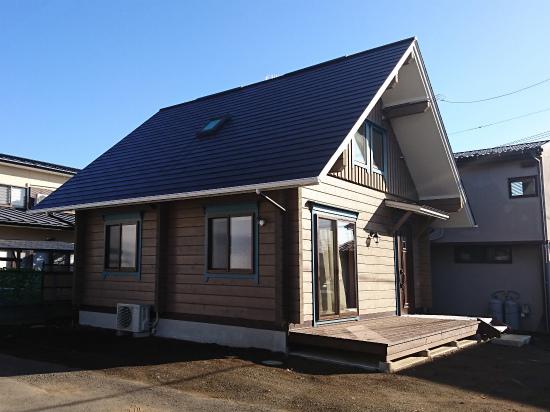 準防火地域建築 ログハウス